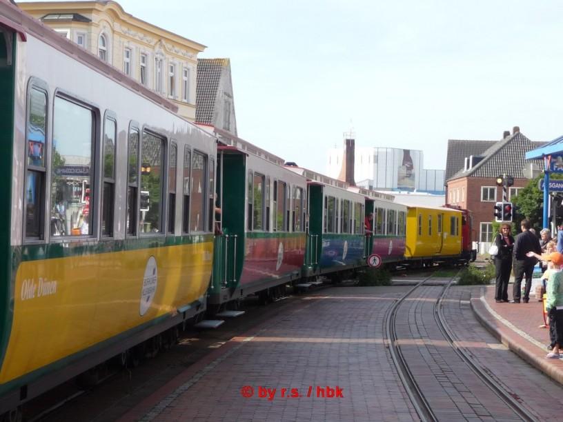 Borkum Inselbahnhof, 900mm gauge railway