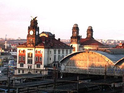 Praha Hlavni Nadrazi (Main Train Station)