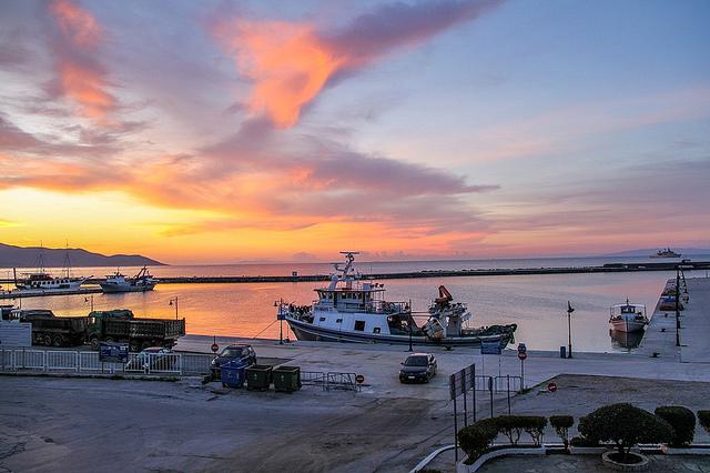 λιμάνι των Νέων Στύρων - Καρυστος - Ελλαδα