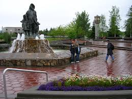 Fairbanks Alaska Web Cam – Golden Heart Plaza