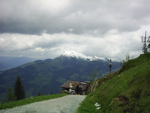 Blick auf Kitzbüheler Horn