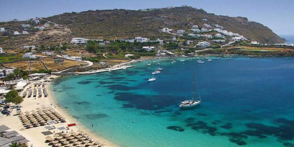 Santa Marina Resort in Ornos & Villas, Mykonos, Greece