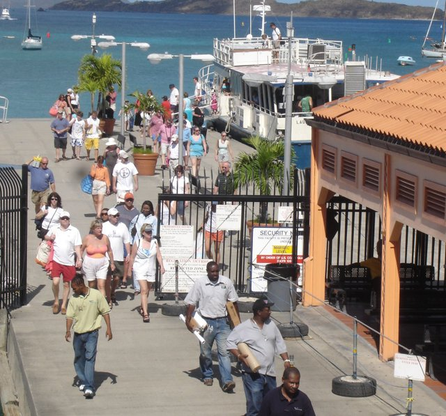 Cruz Bay Ferry Dock, St. John, U.S. Virgin Islands